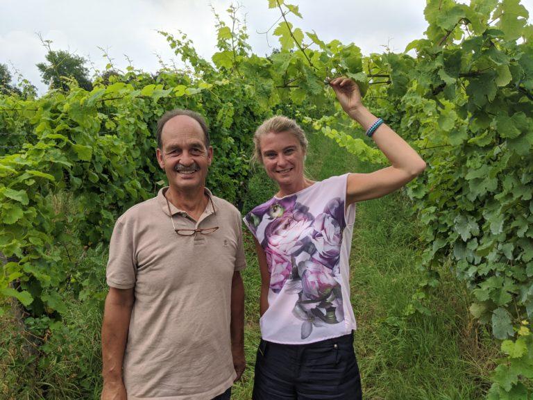 GoDutch.wine   Peter Pelzer en Marieke Fijnvandraat op Domein Aldenborgh close up