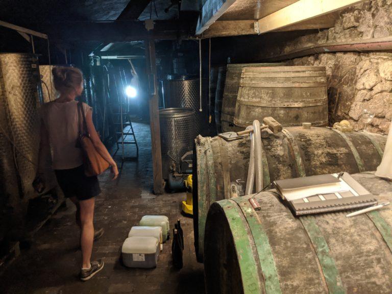 GoDutch.Wine | Domein Aldenborgh wijnkelder Duitse houten vaten