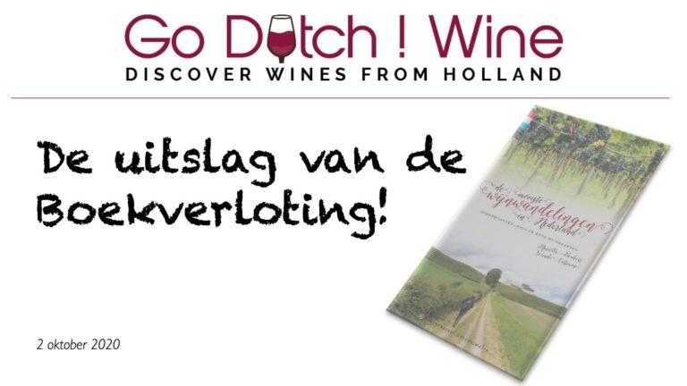 GoDutch.Wine   Uitslag loterij Mooiste Wijnwandelingen in Nederland