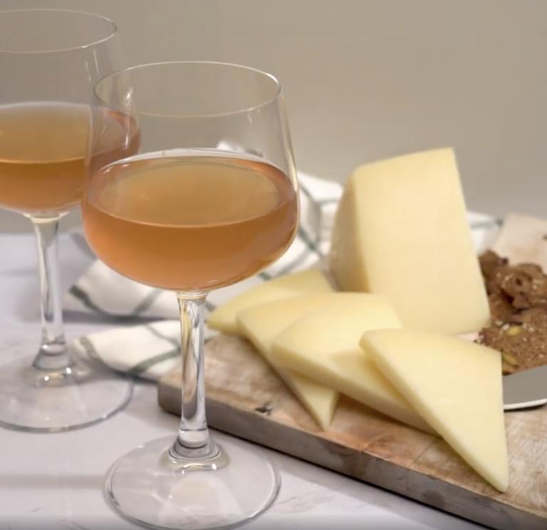 GoDutch.Wine | Pecorino Cheese Orange Wine