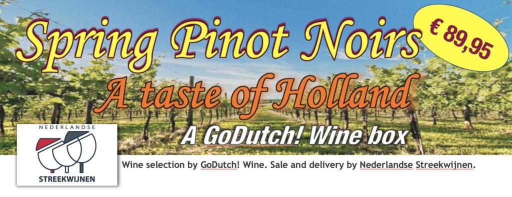 GoDutch.Wine | Spring Pinot Noir winebox